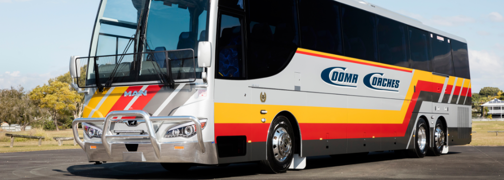 MAN: Euro-6-Reisebus in Down Under