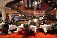 """VPR connects … 2018"" in Hamburg"