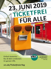 VRS: ticketfreier Tag am 23. Juni