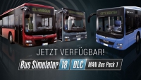 MAN-Bus-Pack für Bus-Simulator